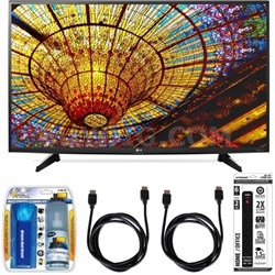 43UH6100 43-Inch 4K UHD Smart TV with webOS 3.0 Accessory Bundle