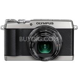 SH-1 16MP HD 1080p 24x Opt Zoom Digital Camera - Silver
