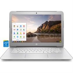 """14-ak040nr 14.0"""" HD Chromebook - Intel Celeron N2840 Processor"""
