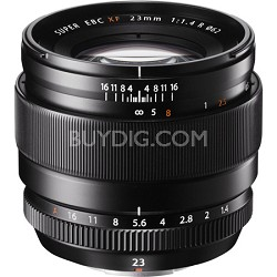 Fujinon XF 23mm (35mm) F1.4R X-Mount Lens