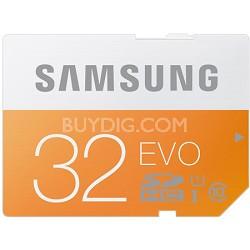 EVO 32GB SDHC Secure Digital Memory Card - Class 10