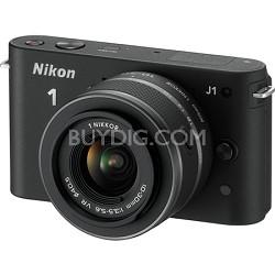 1 J1 SLR Black Digital Camera w/ 10-30mm VR Lens