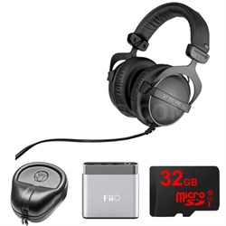 DT 770 Pro Closed Dynamic Over-Ear Headphones - 32 Ohm w/ FiiO Amp. Bundle
