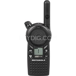 CLS1110 5-Mile 1 Channel UHF Two-Way Radio - Black