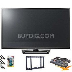 "42PA4500 42"" Class Plasma 720p HD TV Value Bundle"