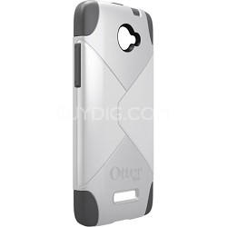 Commuter Series Case for HTC Droid DNA - Carrier Packaging - Glacier White