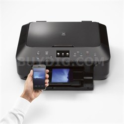 Pixma MG6620 Wireless Color Photo All-in-One Inkjet Printer (Black)