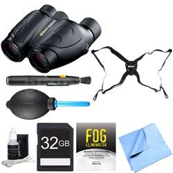 7277 8x25 Travelite Binoculars Adventure Bundle