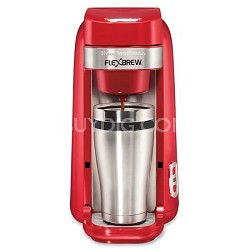 Single-Serve Coffee Maker, FlexBrew Red - 49960