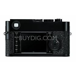 M9-P 18 MP Digital Rangefinder Camera (Black) 10703