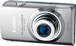 "Powershot SD3500 IS 14.1 MP Digital Camera with 3.5"" Touch Panel LCD (Silver)"