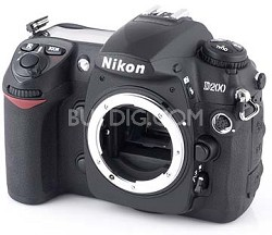 D200 10.2 Megapixel Digital SLR Camera Body