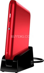 640GB Passport Elite External Hard Drive (Red)