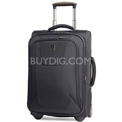 """Maxlite3 22"""" Carry-on Black Expandable Rollaboard Luggage"""