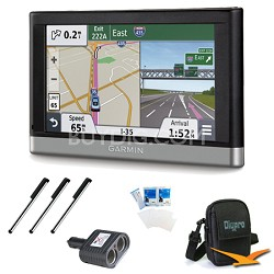 """nuvi 2457LMT 4.3"""" GPS with Lifetime Maps and Traffic Updates Essentials Bundle"""