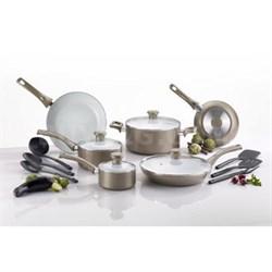 16-Piece Non-stick Ceramic Cookware Set - C728SE64