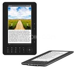 "7"" TFT Color eBook Reader - Black"
