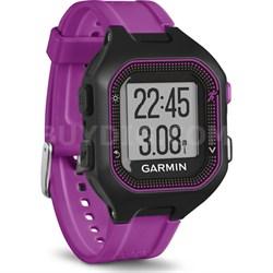 Forerunner 25 GPS Fitness Watch - Small - Black/Purple