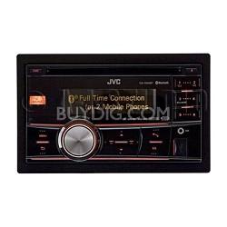KW-R900BT In-Dash AM/FM/CD Car Stereo Receiver w/ Bluetooth