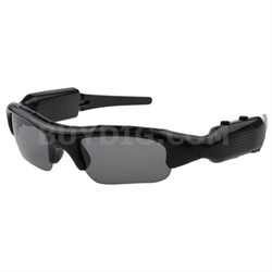 Action View Sunglasses with Built-In HD Camera