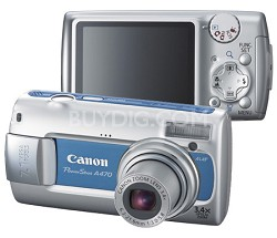 PowerShot A470 Digital Camera (Blue)