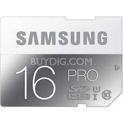 PRO 16GB SDHC Up to 90MB/s Class 10 Memory Card
