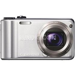Cyber-shot DSC-H55 14.1 MP Digital Camera (Silver) - REFURBISHED
