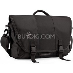 Commute Laptop TSA-Friendly Messenger Bag, Medium (Black)
