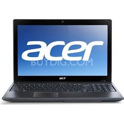 """Aspire AS5560-8480 15.6"""" Notebook PC (Black) - AMD Quad-Core A8-3520M Accel Proc"""