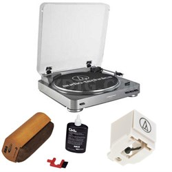 AT-LP60 Turntable w/ Record Cleaning Kit
