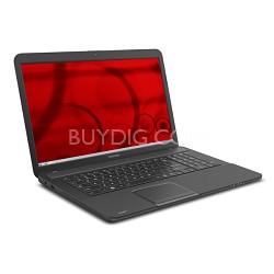 "Satellite 17.3"" C875D-S7220 Notebook PC - AMD E-Series Processor E1-1200"