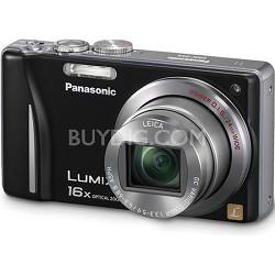 Lumix DMC-ZS8 14MP Black Digital Camera w/ 16x Zoom