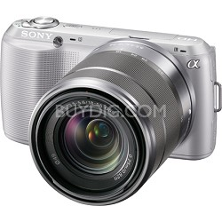 Alpha NEX-C3 Interchangeable Lens Silver Digital Camera w/ 18-55mm Lens