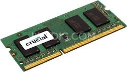 2GB 204 pin SODIMM module DDR3 PC3 8500 1066 MHz, unbuffered non-ECC