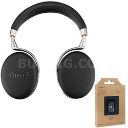 Zik 3 Wireless Noise Cancelling Bluetooth Headphones Blk Leather + Battery