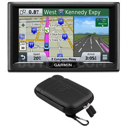 "nuvi 58 5"" Essential Series 2015 GPS Navigation System US & Canada Case Bundle"
