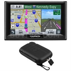 "nuvi 58 5"" Essential Series 2015 GPS Navigation System US & Canada Case Bundle"