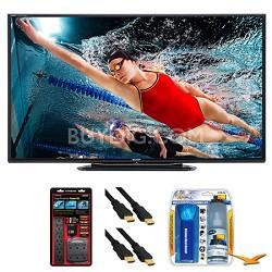 """LC-80LE757U Aquos 80"""" 3D WiFi 240Hz 1080p LED TV Surge Protector Bundle"""