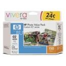 02 Series Photo Value Pack-150 sht/4 x 6 in (Q7964AN)