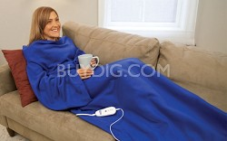 Electric Heated Blanket with Sleeves