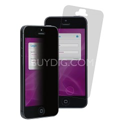 Privacy MPF828786 Screen Protector for iPhone 5 - 1 Pack   Clear/Black