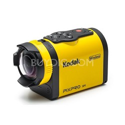 Water/Shock/Freeze/Dust Proof FHD 1080p Digital Action Camera w/ Explorer Pack