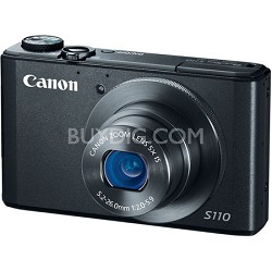 PowerShot S110 12MP Digital Camera with 3-Inch LCD (Black)