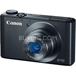 PowerShot S110 12MP Digital Camera with 3-Inch LCD (Black)