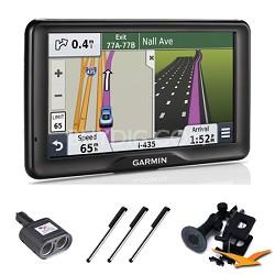 "nuvi 2757LM 7"" GPS Navigation System with Lifetime Map Updates Essentials Bundle"