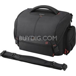 Alpha DSLR System Carrying Case with 5 Padded Dividers