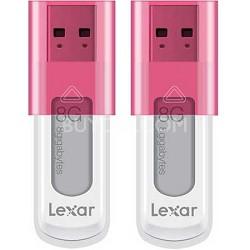 8 GB JumpDrive High Speed USB Flash Drive (Pink) 2-Pack (16 GB Total)