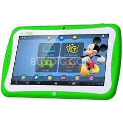 "Smart Tab 7"" Tablet Disney Content Dual Core - Green"