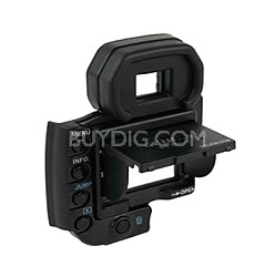 Snap-on Pro LCD Pop-up Shade & Protective Cover for Nikon D80