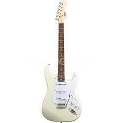 Squier Bullet Strat Electric Guitar w/ Tremolo -  Arctic White